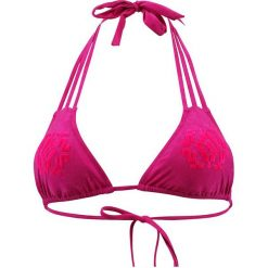 """Biustonosz bikini """"Bandol"""" w kolorze fuksji. Czerwone biustonosze Val d´Azur, z aplikacjami. W wyprzedaży za 173,95 zł."""