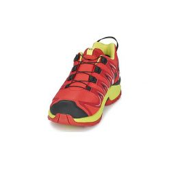Buty Dziecko Salomon  XA PRO 3D CSWP J. Czarne buty sportowe chłopięce marki Salomon, z gore-texu, na sznurówki, outdoorowe, gore-tex. Za 216,30 zł.