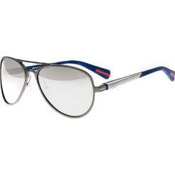 """Okulary przeciwsłoneczne męskie: Okulary męskie """"Dorado"""" w kolorze szaro-srebrnym"""