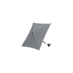 Mutsy  Parasol przeciwsłoneczny Nio Adventure Storm Grey - szary. Szare parasole Mutsy. Za 190,00 zł.