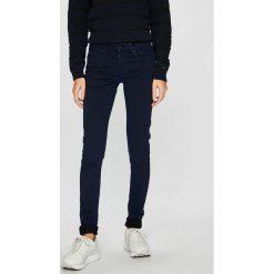 Pepe Jeans - Jeansy. Niebieskie jeansy damskie rurki marki Pepe Jeans, z bawełny. Za 359,90 zł.