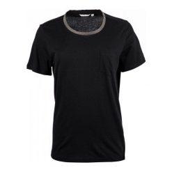 Mustang T-Shirt Damski Xs Czarny. Niebieskie t-shirty damskie marki Mustang, z aplikacjami, z bawełny. W wyprzedaży za 106,00 zł.