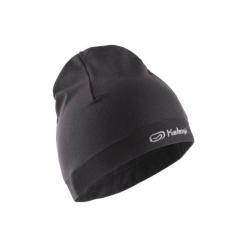 Czapka do biegania. Czarne czapki zimowe damskie KALENJI, z elastanu. Za 19,99 zł.
