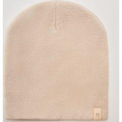 Czapka z błyszczącą nitką - Kremowy. Białe czapki zimowe damskie House. Za 19,99 zł.