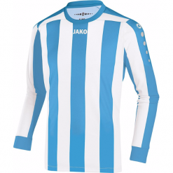 Koszulki sportowe męskie: Jako Inter długi rękaw Koszulka – mężczyźni – skyblue / biały _ s