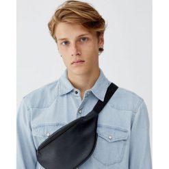Jeansowa koszula w kowbojskim stylu. Szare koszule męskie jeansowe marki Pull&Bear, m, z długim rękawem. Za 89,90 zł.
