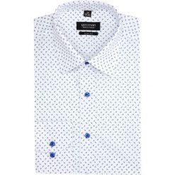 Koszula versone 2843e długi rękaw slim fit biały. Białe koszule męskie slim Recman, m, z długim rękawem. Za 149,00 zł.