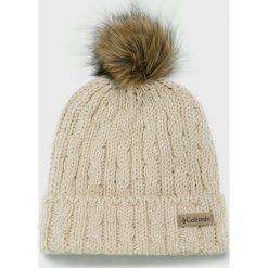Columbia - Czapka. Szare czapki zimowe męskie Columbia, z dzianiny. Za 149,90 zł.