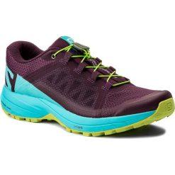 Buty SALOMON - Xa Elevate W 401378 22 V0 Dark Purple/Blue Curacao/Acid Lime. Fioletowe buty do biegania damskie Salomon, z materiału. W wyprzedaży za 379,00 zł.