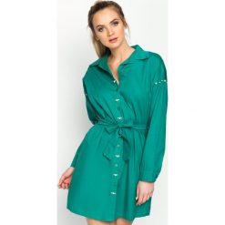 Zielona Sukienka Sirene. Zielone sukienki balowe marki Reserved, z wiskozy. Za 74,99 zł.