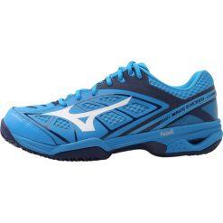 Mizuno WAVE EXCEED CLAYCOURT Obuwie do tenisa Outdoor diva blue/white/blue depths. Niebieskie buty do tenisa męskie Mizuno, z gumy, mizuno wave. W wyprzedaży za 263,45 zł.