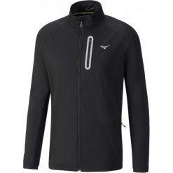 Mizuno Męska Kurtka Alpha Softshell Jkt/Black L. Czarne kurtki do fitnessu męskie marki Nike, m. W wyprzedaży za 349,00 zł.