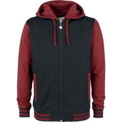 RED by EMP Playing The Blame Game Bluza z kapturem rozpinana czarny/czerwony. Czerwone bluzy męskie rozpinane marki KALENJI, m, z elastanu, z długim rękawem, długie. Za 199,90 zł.