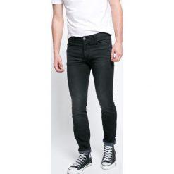Review - Jeansy. Niebieskie jeansy męskie skinny marki House, z jeansu. W wyprzedaży za 129,90 zł.