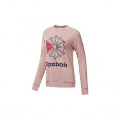Bluzy Reebok Classic  Bluza Starcrest Crewneck. Czerwone bluzy damskie Reebok Classic, s. Za 229,00 zł.