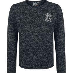 Parkway Drive EMP Signature Collection Sweter z dzianiny czarny/szary. Czarne swetry klasyczne męskie Parkway Drive, xxl, z aplikacjami, z dzianiny, z okrągłym kołnierzem. Za 164,90 zł.