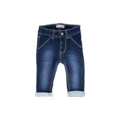 FEETJE Boys Mini Spodnie dżinsowe dark blue denim. Niebieskie spodnie chłopięce marki Feetje, z bawełny. Za 89,00 zł.