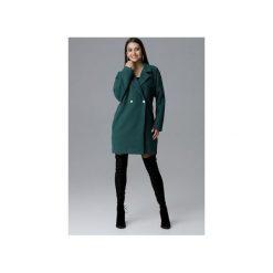 Płaszcz M625 Zielony. Zielone płaszcze damskie pastelowe FIGL, l, z tkaniny. Za 299,00 zł.