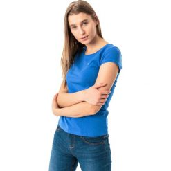 4f Koszulka damska H4L18-TSD002 niebieska r. S. Topy sportowe damskie 4f, l. Za 28,90 zł.