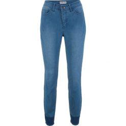 """Jeansy damskie: Dżinsy shape z kolekcji Maite Kelly bonprix niebieski """"stone"""""""