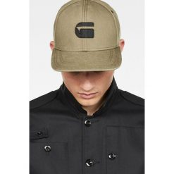 G-Star Raw - Czapka. Szare czapki z daszkiem męskie marki G-Star RAW, z bawełny, retro. W wyprzedaży za 99,90 zł.