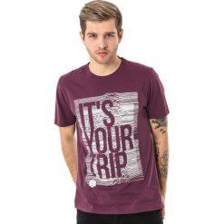 4f Koszulka męska H4L18-TSM012 fioletowa r. XXL. Fioletowe koszulki sportowe męskie marki 4f, l. Za 36,00 zł.
