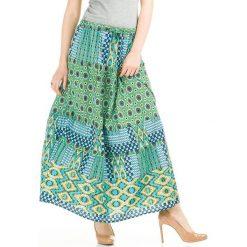 Spódniczki: Spódnica w kolorze turkusowym