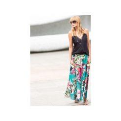 """Długie spódnice: spódnica maxi """"flower power"""""""