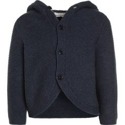 Swetry chłopięce: Sense Organics PAUL HOODED Kardigan navy melange
