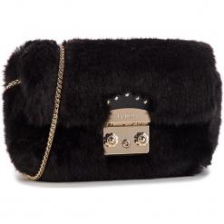 Torebka FURLA - Metropolis Nuvola Mini 993971 B BNC3 ECP Onyx. Czarne torebki klasyczne damskie Furla, z materiału, zdobione. Za 1010,00 zł.