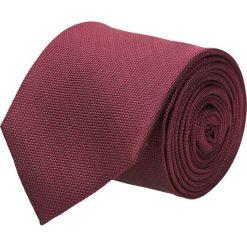 Krawaty męskie: krawat platinum bordo classic 210