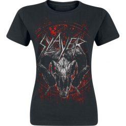 Slayer Mongo Goat Koszulka damska czarny. Czarne t-shirty damskie Slayer, l. Za 74,90 zł.