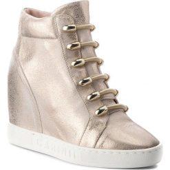 Sneakersy CARINII - B4130 F76-000-000-B88. Żółte sneakersy damskie Carinii, z materiału. W wyprzedaży za 239,00 zł.