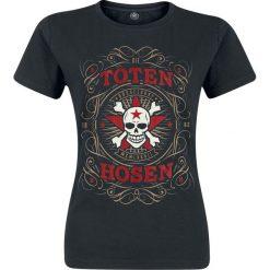 Die Toten Hosen Düsseldorf MCMLXXXII Koszulka damska czarny. Czarne bluzki damskie Die Toten Hosen, m. Za 79,90 zł.