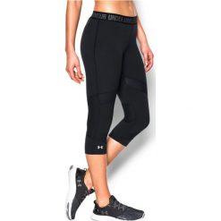 Under Armour Spodnie damskie Capri Under Armour Black r. XS (1271535001). Czarne spodnie sportowe damskie marki Under Armour, xs. Za 165,23 zł.