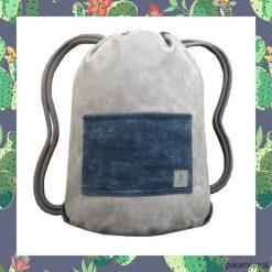 CACTUS & GREY dwustronny plecak SACK IT. Szare plecaki męskie marki Pakamera. Za 165,00 zł.