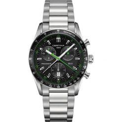 PROMOCJA ZEGAREK CERTINA GENT QUARTZ C024.447.11.051.02. Czarne zegarki męskie marki CERTINA, ze stali. W wyprzedaży za 2666,39 zł.