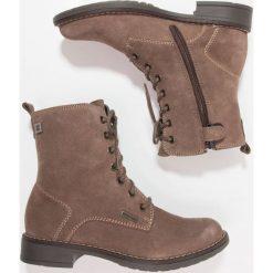 Richter Botki almond. Brązowe buty zimowe damskie marki Richter, z materiału. W wyprzedaży za 151,60 zł.