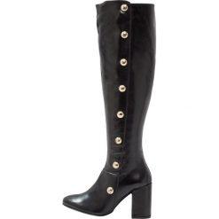 Carvela WATERLOO  Kozaki na obcasie black. Czarne buty zimowe damskie Carvela, z materiału, na obcasie. W wyprzedaży za 649,50 zł.