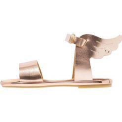 Babywalker Sandały copper. Szare sandały chłopięce marki Babywalker, z materiału, klasyczne. Za 289,00 zł.