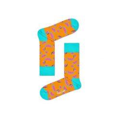 Skarpetki Happy Socks WAT01-2000. Brązowe skarpetki męskie Happy Socks, z bawełny. Za 24,43 zł.