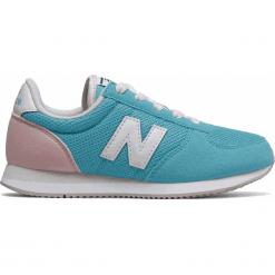 New Balance KL220BFY. Niebieskie buty sportowe chłopięce New Balance, z materiału. W wyprzedaży za 169,99 zł.
