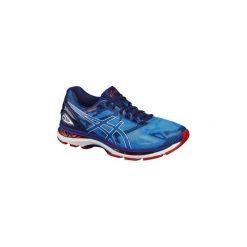 Buty do biegania GEL NIMBUS 19 męskie. Niebieskie buty do biegania męskie Asics, z poliesteru. W wyprzedaży za 429,99 zł.