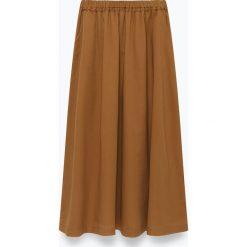 """Spódniczki rozkloszowane: Spódnica """"Ybanut"""" w kolorze jasnobrązowym"""