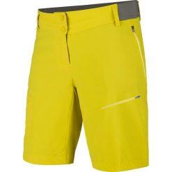 """Bermudy damskie: Szorty funkcyjne """"Pedroc"""" w kolorze żółtym"""