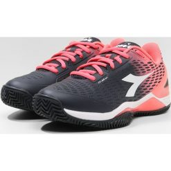 Buty do tenisu damskie: Diadora SPEED BLUSHIELD 2 CLAY Obuwie do tenisa Outdoor black/fluo coral