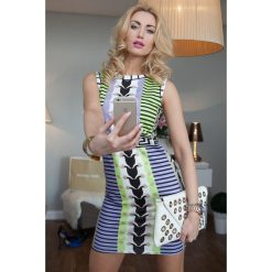Sukienki: Kolorowa sukienka mini