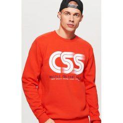 Bluzy męskie: Bluza z kolekcji classic - Czerwony