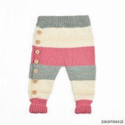 Chinosy chłopięce: Spodnie Tricolor Merynos Dziecięcy