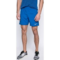 Nike - Szorty. Szare spodenki sportowe męskie Nike, z elastanu, sportowe. W wyprzedaży za 129,90 zł.